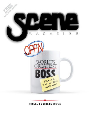 Scene Small Business Issue Cover