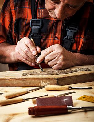 Senior Adult Work Working