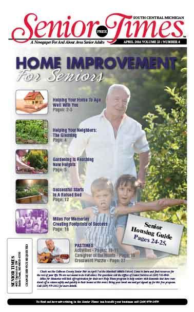 Home Improvement For Seniors Cover