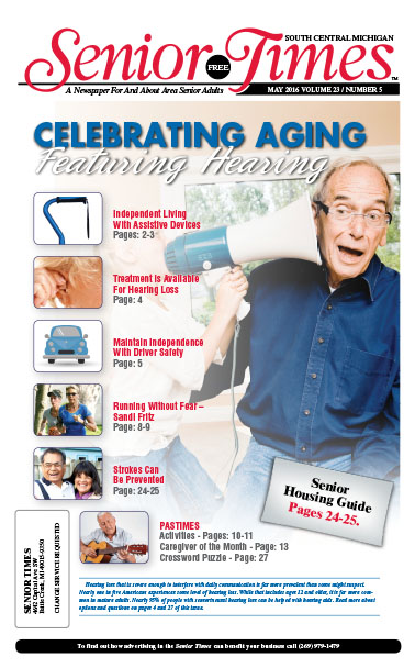 Celebrating Aging, Featuring Hearing Cover