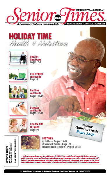 Holiday Time, Health & Nutrition Cover