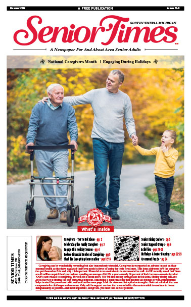 National Caregivers Month, Engaging During Holidays Cover