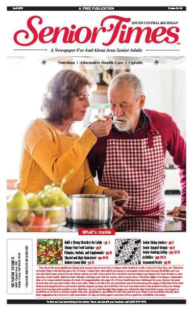 Senior Times Nutrition Alternative Health Care Opioids Cover