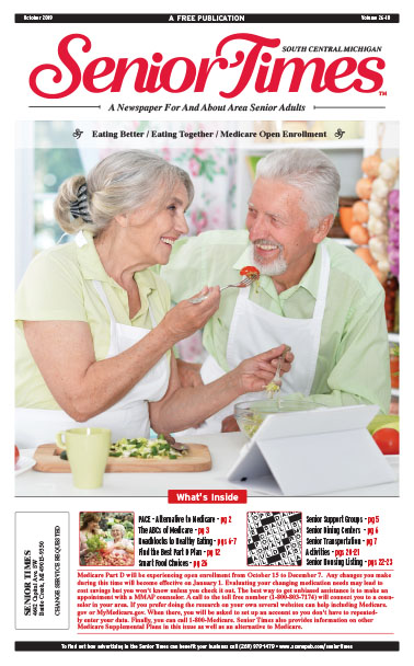 Senior Times Eating Better Together Cover