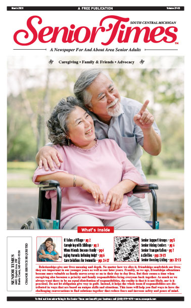 Senior Times - Caregiving, Family & Friends, Advocacy