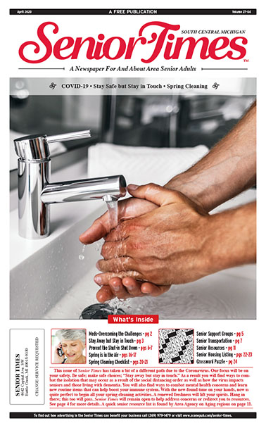 Senior Times - COVID-19, Staying Safe & In Touch, Spring Cleaning
