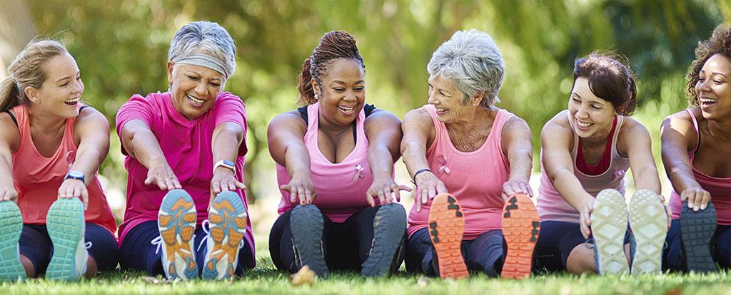 Group of Seniors Excercising
